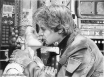 "Han and Leia from ""Star Wars"". Pencil 