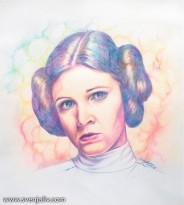 Leia-watercolour