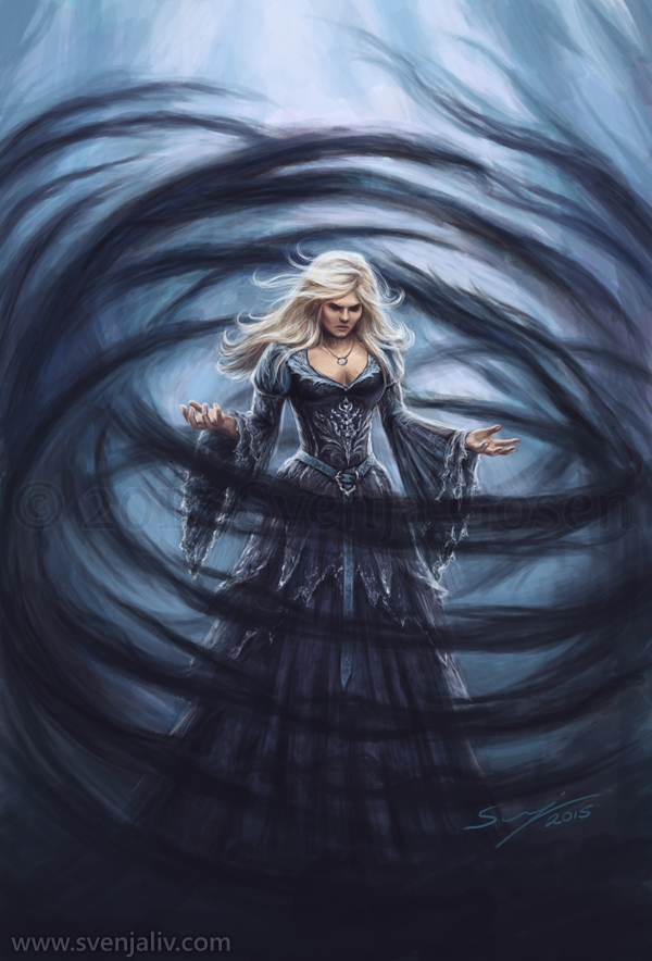 Dark Swan Princess  Svenja Gosen art and illustration