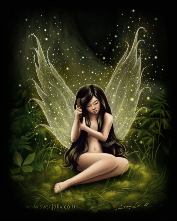 Illustration of a fairy.