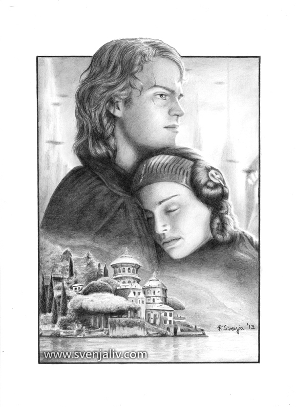 Hold Me U2013 Anakin And Padmé