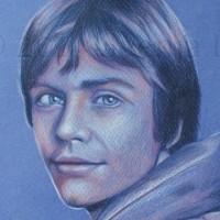 A quick sketch (1-2 hrs) of Luke Skywalker. Colour pencils on toned paper | A4 | 2014.