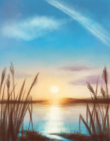 island-sunset